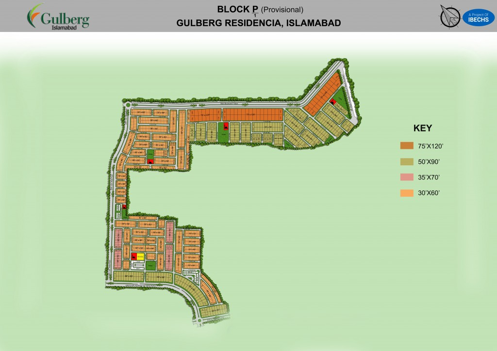 Block P of Gulberg Residencia